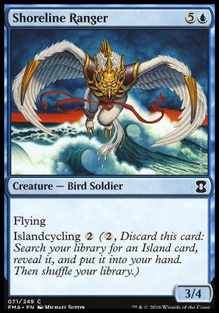 Batedor da Orla / Shoreline Ranger-Magic: The Gathering-MoxLand
