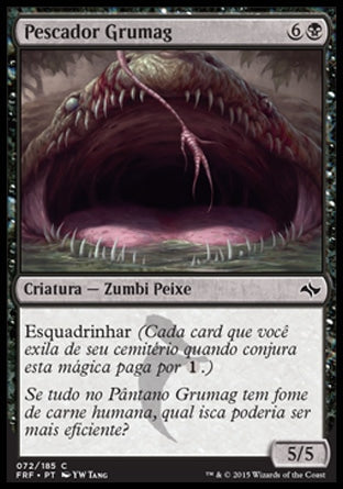 Pescador Grumag / Gurmag Angler-Magic: The Gathering-MoxLand