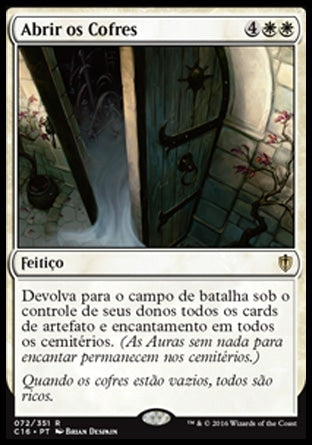 Abrir os Cofres / Open the Vaults-Magic: The Gathering-MoxLand