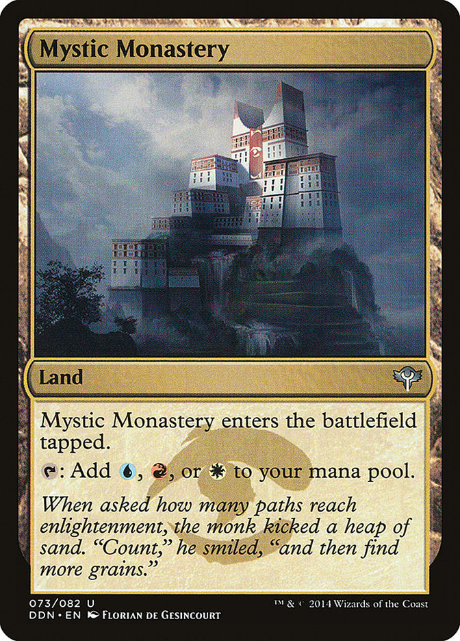 Monastério Místico / Mystic Monastery-Magic: The Gathering-MoxLand