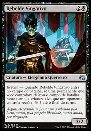 Rebelde Vingativo / Vengeful Rebel-Magic: The Gathering-MoxLand