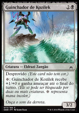 Guinchador de Kozilek / Kozilek's Shrieker-Magic: The Gathering-MoxLand