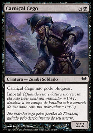 Carniçal Cego / Sightless Ghoul-Magic: The Gathering-MoxLand