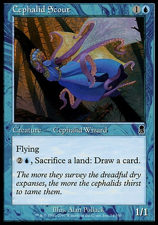 Batedor Cefálida / Cephalid Scout-Magic: The Gathering-MoxLand