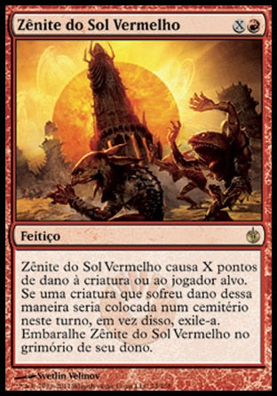 Zênite do Sol Vermelho / Red Sun's Zenith-Magic: The Gathering-MoxLand