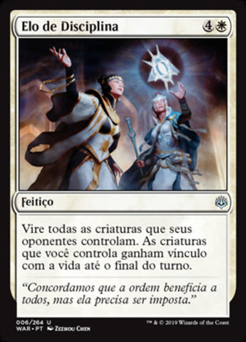 Elo de Disciplina / Bond of Discipline-Magic: The Gathering-MoxLand