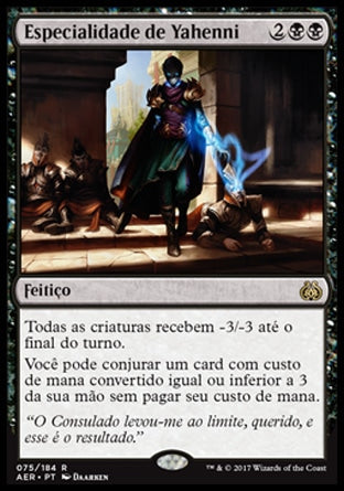 Especialidade de Yahenni / Yahenni's Expertise-Magic: The Gathering-MoxLand