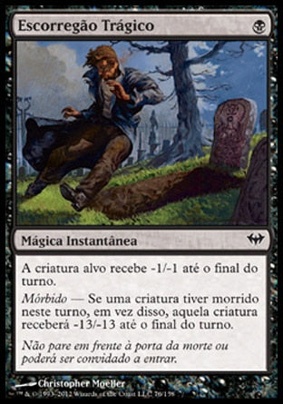 Escorregão Trágico / Tragic Slip-Magic: The Gathering-MoxLand