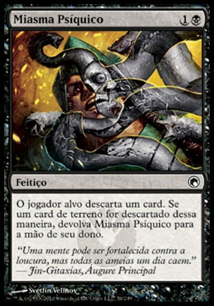 Miasma Psíquico / Psychic Miasma-Magic: The Gathering-MoxLand