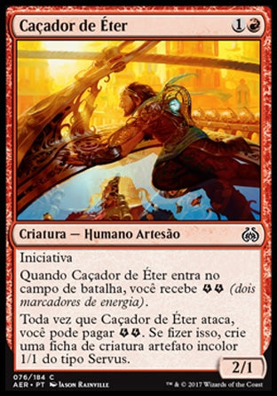 Caçador de Éter / Aether Chaser-Magic: The Gathering-MoxLand