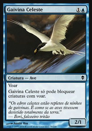 Gaivina Celeste / Welkin Tern-Magic: The Gathering-MoxLand