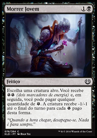 Morrer Jovem / Die Young-Magic: The Gathering-MoxLand