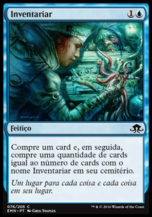 Inventariar / Take Inventory-Magic: The Gathering-MoxLand