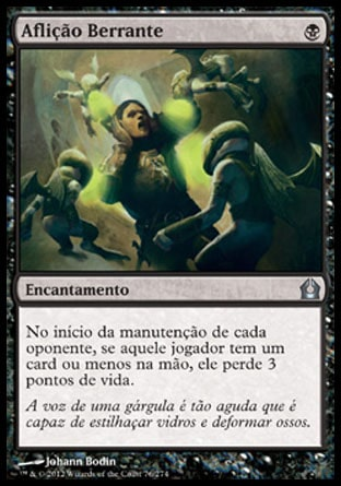 Aflição Berrante / Shrieking Affliction-Magic: The Gathering-MoxLand