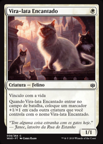 Vira-lata Encantado / Charmed Stray-Magic: The Gathering-MoxLand