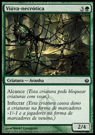 Viúva-necrótica / Blightwidow-Magic: The Gathering-MoxLand