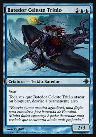 Batedor Celeste Tritão / Merfolk Skyscout-Magic: The Gathering-MoxLand