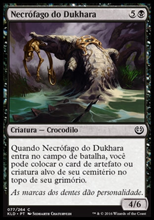 Necrófago do Dukhara / Dukhara Scavenger-Magic: The Gathering-MoxLand