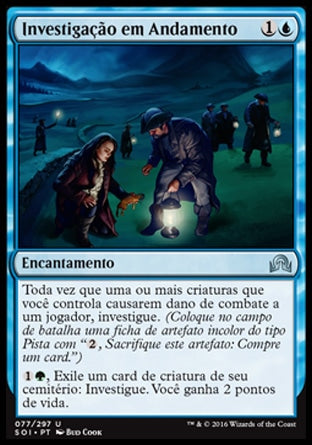 Investigação em Andamento / Ongoing Investigation-Magic: The Gathering-MoxLand