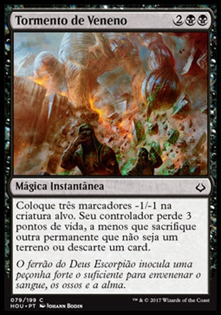 Tormento de Veneno / Torment of Venom-Magic: The Gathering-MoxLand