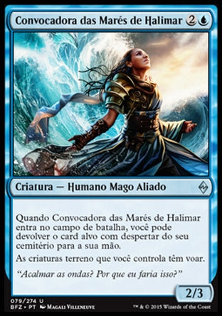 Convocadora das Marés de Halimar / Halimar Tidecaller-Magic: The Gathering-MoxLand