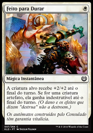 Feito para Durar / Built to Last-Magic: The Gathering-MoxLand