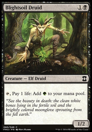 Druida da Terra Árida / Blightsoil Druid-Magic: The Gathering-MoxLand