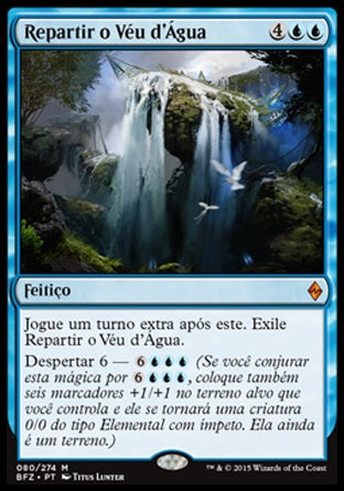 Repartir o Véu d'Água / Part the Waterveil-Magic: The Gathering-MoxLand