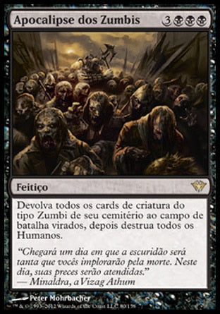 Apocalipse dos Zumbis / Zombie Apocalypse-Magic: The Gathering-MoxLand