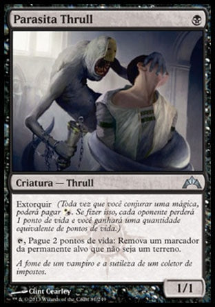 Parasita Thrull / Thrull Parasite-Magic: The Gathering-MoxLand