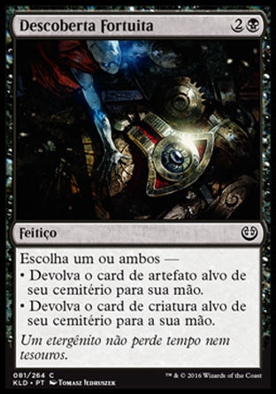 Descoberta Fortuita / Fortuitous Find-Magic: The Gathering-MoxLand