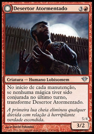 Desertor Atormentado / Afflicted Deserter-Magic: The Gathering-MoxLand