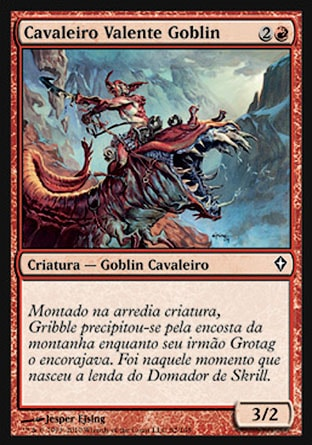 Cavaleiro Valente Goblin / Goblin Roughrider-Magic: The Gathering-MoxLand