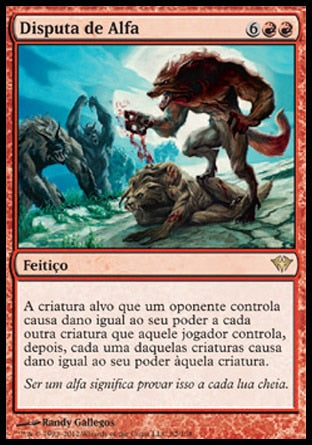 Disputa de Alfa / Alpha Brawl-Magic: The Gathering-MoxLand