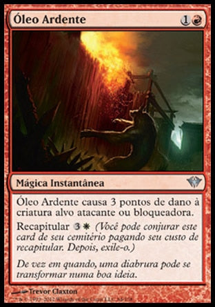 Óleo Ardente / Burning Oil-Magic: The Gathering-MoxLand