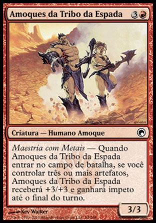Amoques da Tribo da Espada / Blade-Tribe Berserkers-Magic: The Gathering-MoxLand