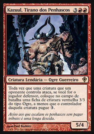 Kazuul, Tirano dos Penhascos / Kazuul, Tyrant of the Cliffs-Magic: The Gathering-MoxLand