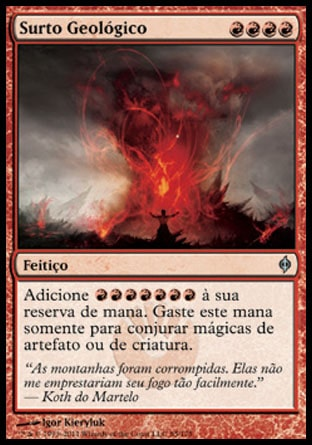 Surto Geológico / Geosurge-Magic: The Gathering-MoxLand