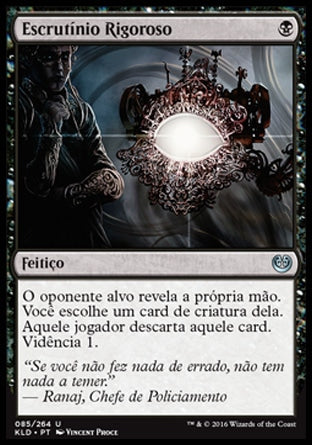 Escrutínio Rigoroso / Harsh Scrutiny-Magic: The Gathering-MoxLand