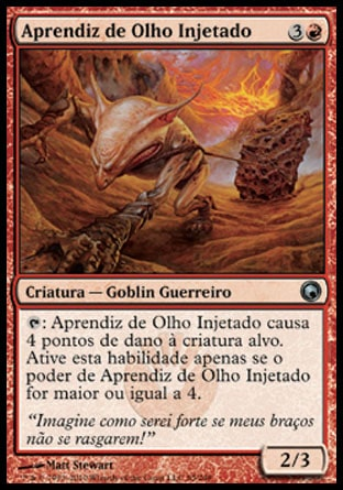Aprendiz de Olho Injetado / Bloodshot Trainee-Magic: The Gathering-MoxLand