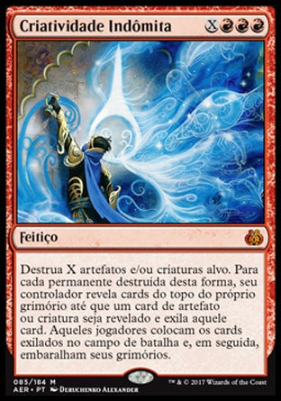 Criatividade Indômita / Indomitable Creativity-Magic: The Gathering-MoxLand