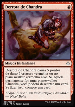 Derrota de Chandra / Chandra's Defeat-Magic: The Gathering-MoxLand