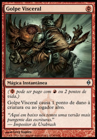 Golpe Visceral / Gut Shot-Magic: The Gathering-MoxLand