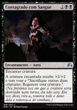 Consagrado com Sangue / Consecrated by Blood-Magic: The Gathering-MoxLand