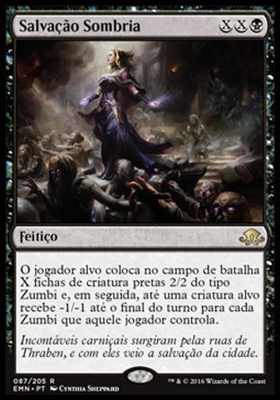 Salvação Sombria / Dark Salvation-Magic: The Gathering-MoxLand
