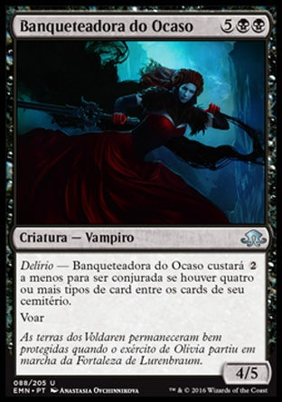 Banqueteadora do Ocaso / Dusk Feaster-Magic: The Gathering-MoxLand