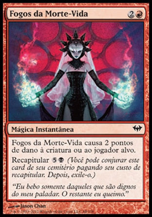 Fogos da Morte-Vida / Fires of Undeath-Magic: The Gathering-MoxLand