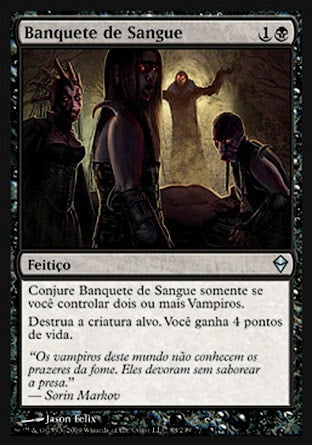 Banquete de Sangue / Feast of Blood-Magic: The Gathering-MoxLand