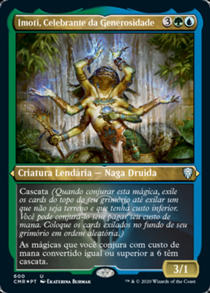 Imoti, Celebrante da Generosidade / Imoti, Celebrant of Bounty-Magic: The Gathering-MoxLand