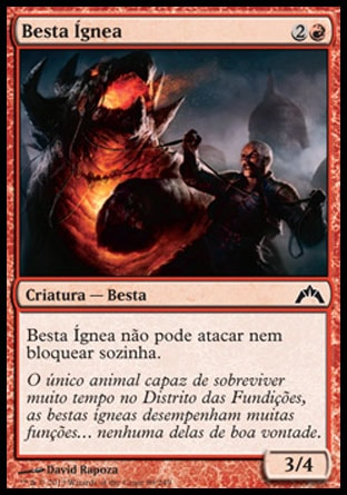 Besta Ígnea / Ember Beast-Magic: The Gathering-MoxLand
